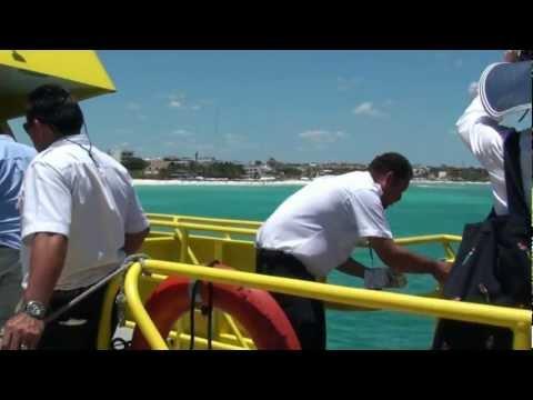 "Cozumel Ferry from Playa Del Carmen  ""AWESOME"" UltraMar Ferry"