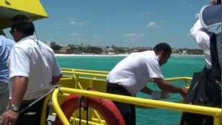 "Cozumel Ferry from Playa Del Carmen  ""AWESOME"" UltraMar Ferry"