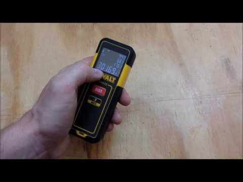 Dewalt pocket laser distance measurer dw pl review and