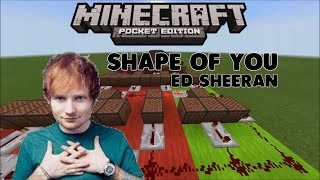♪ Shape Of You ♪ [Ed Sheeran] - Lagu Dari Noteblock #1 (MCPE INDONESIA) Mp3