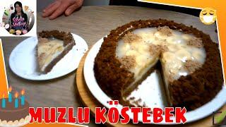 Muzlu Jöleli Kral Tacı Pasta Tarifi Nasıl yapılır Sibelin mutfağı ile yemek tarifleri