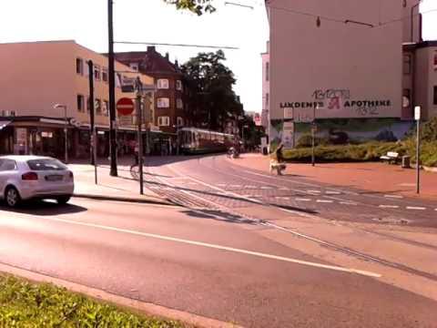 Stadtbahn Hannover Linie 10 Tw2500 Im Einsatz Kuchengarten Ahlem Hbf