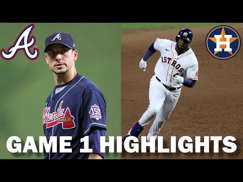 Download Atlanta Braves vs. Houston Astros | 2021 World Series Game 1 Highlights