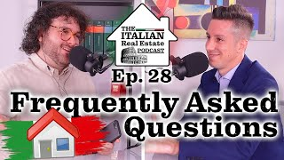 Frequently Asked Questions About Italian Real Estate