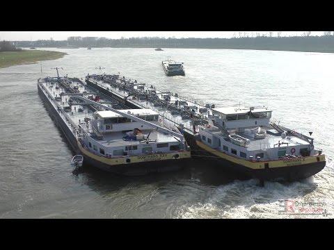 [HAVARIE AUF DEM RHEIN] - Tankschiff auf Grund gelaufen ~ 2000 Tonnen Rohbenzin umgepumpt -