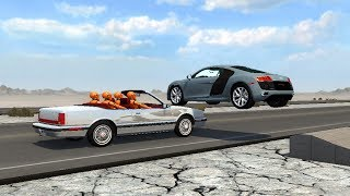 Beamng drive - Millimetric close calls 2