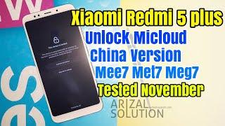 Xiaomi Redmi 5 Plus Unlock Micloud Support China Version Meg7 Mee7 Met7 Perangkat Bandel
