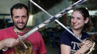 Como são feitas as espadas #Boravê thumbnail