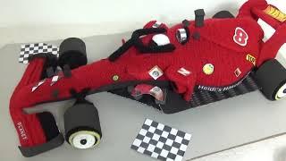 Formel 1 Auto häkeln  Materialien