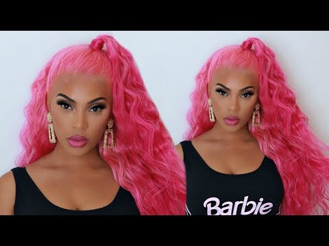 NICKI MINAJ - GOOD FORM  INSPIRED HAIR  & MAKEUP TUTORIAL