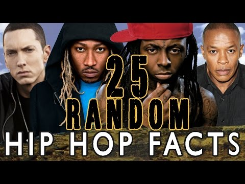 25 RANDOM HIP HOP FACTS – PART 1