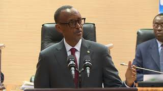 President Kagame speaks at the Signing of 2017-2018 Imihigo (Performance Contracts)