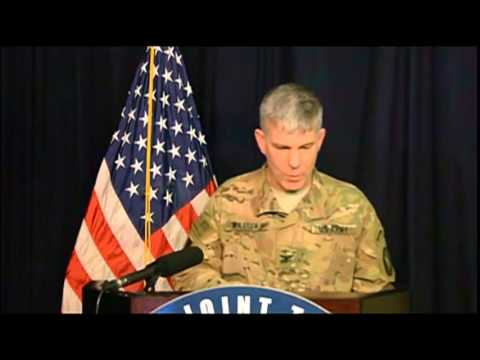 Inherent Resolve Spokesman Briefs From Baghdad (Without Graphics)