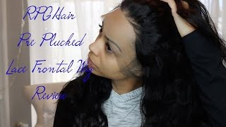 No Plucking Required!!! 360 Lace Frontal Wig Review | RPGHair