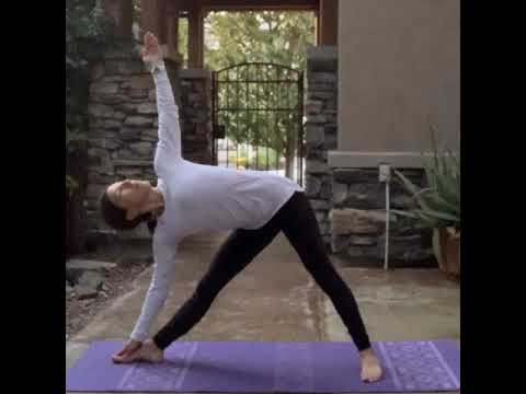 yoga flow  to help with tight lower back and hips  youtube