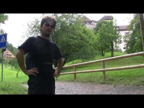 アキーラさん散策②リヒテンシュタイン・ファドゥーツ・リヒテンシュタイン城周辺・Vaduz,Liechtenstein-castle