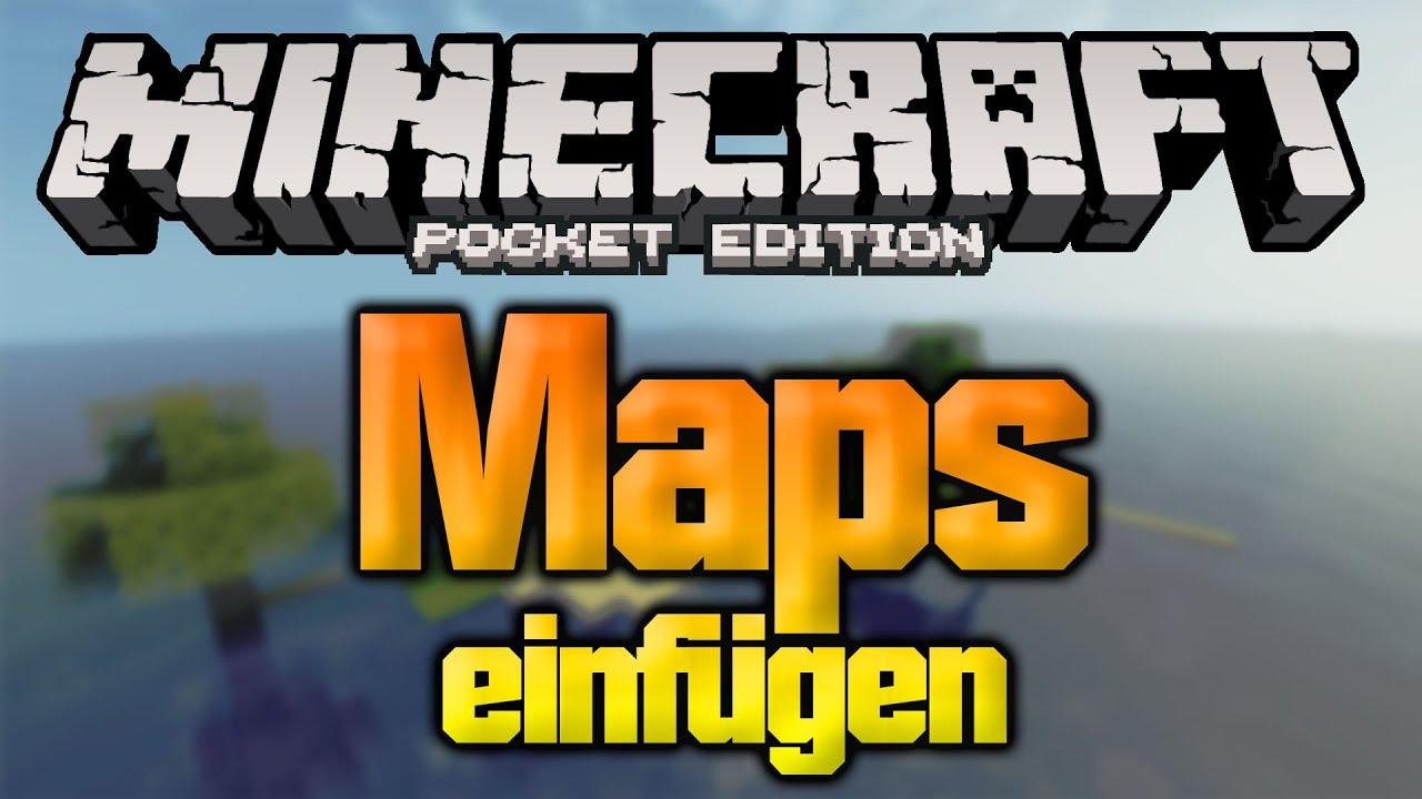 Welten Downloaden Und Installieren In Minecraft PE MCPE IOS - Minecraft hauser download und einfugen