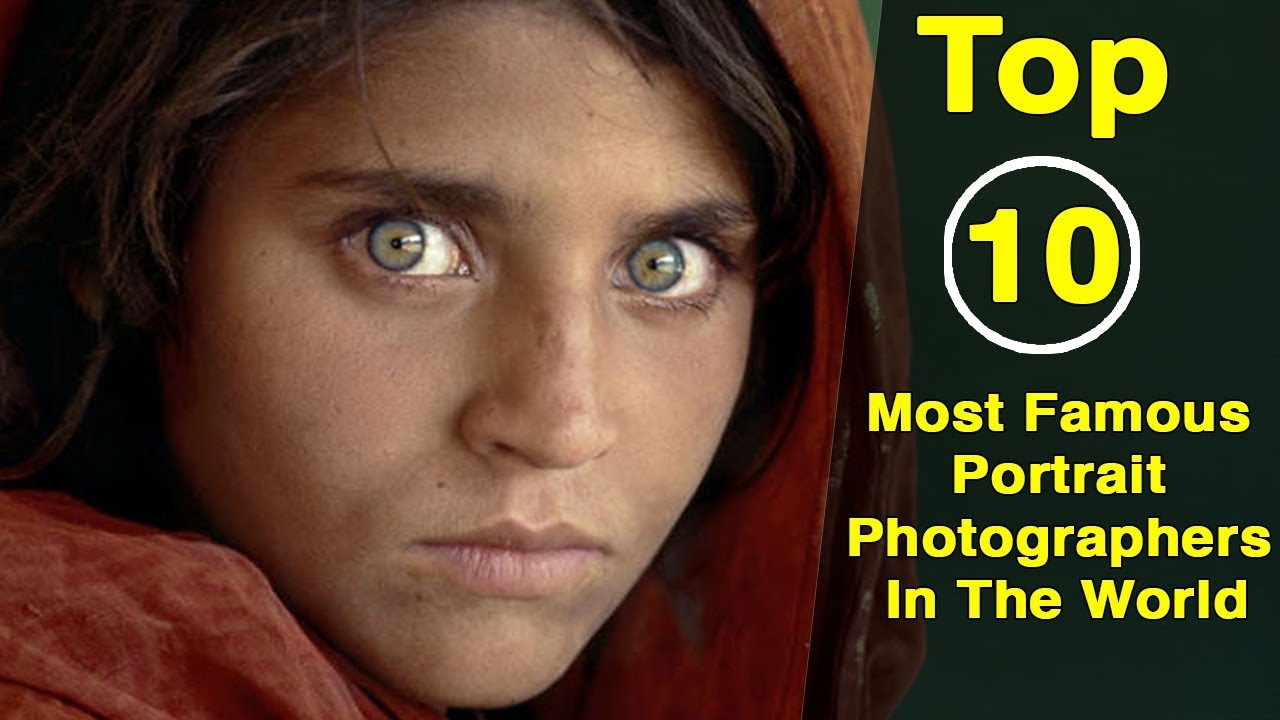 Top 10 most famous portrait photographers in the world factswacts