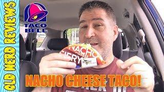 Taco Bell Nacho Cheese Doritos® Locos Tacos REVIEW 🌮🔔🌮
