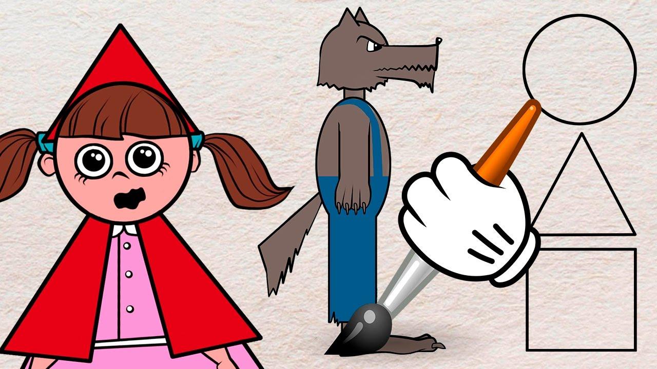 Caperucita y el lobo feroz - 3 3