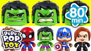 February 2018 TOP 10 Videos 80min Go! Avengers, Dinotrux and PJmasks - DuDuPopTOY
