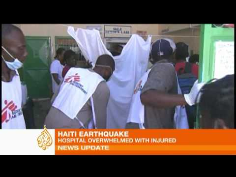 Haiti slum district hit hard