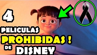 Las 4 Peliculas De Disney Que Fueron Prohibidas Y Nunca Salieron A La Luz !