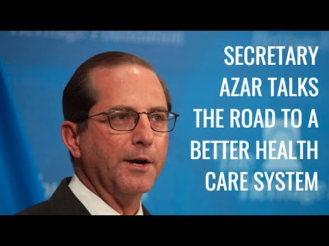 The Daily Signal Interviews Health & Human Services Secretary Alex Azar