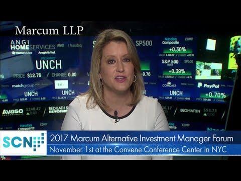 Marcum LLP Announces 2017 Marcum Alternative Investment Manager Forum November 1
