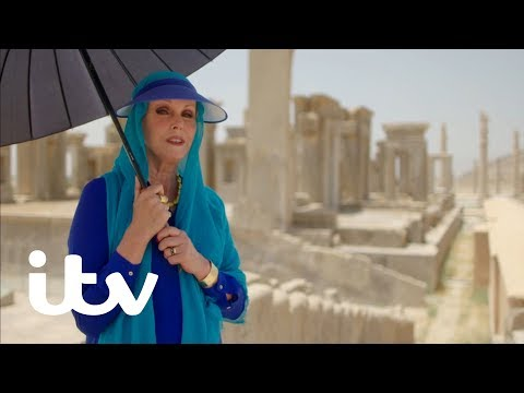 Joanna Lumley's Silk Road Adventure | Discovering the Ruins of Persepolis | ITV