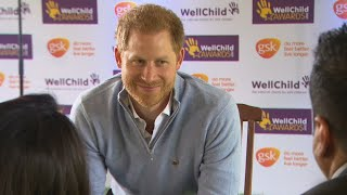 video: Forget-me-not: Prince Harry returns to public eye as floral tribute to Princess Diana revealed