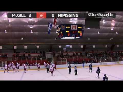 McGill University Redmen vs Nipissing University Lakers - October 17th 2014