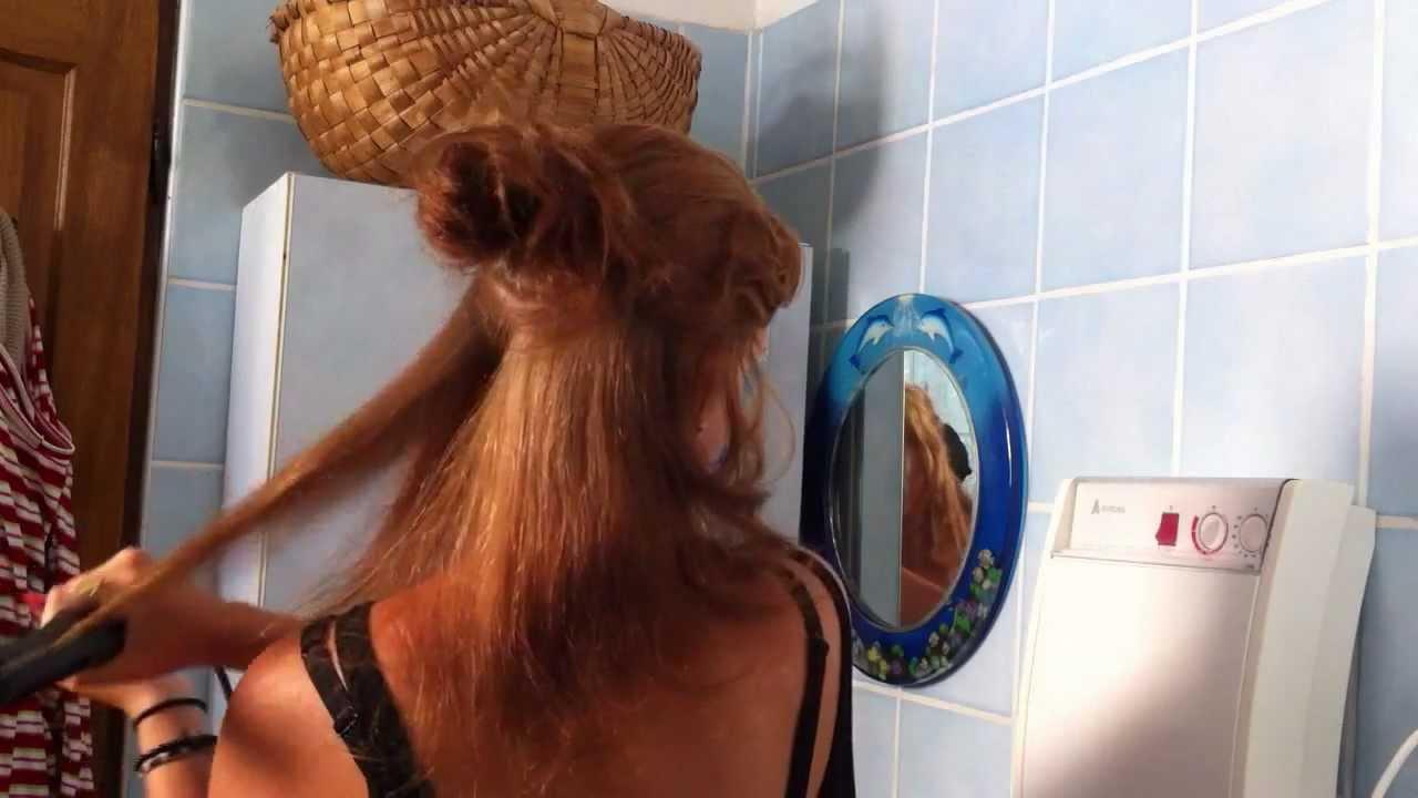 lisser cheveux secs astuce cheveux comment se lisser les cheveux youtube. Black Bedroom Furniture Sets. Home Design Ideas