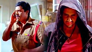 How did Naga Chaitanya help his fearful police brother? hot scene of tadakha movie