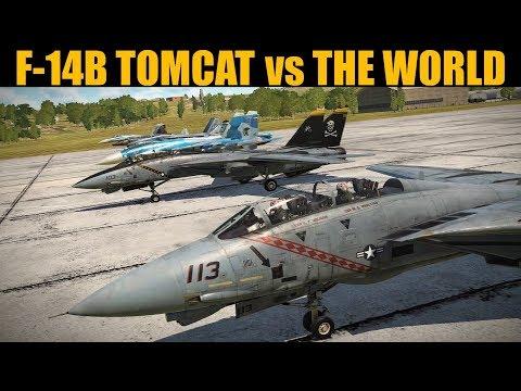 DRAG RACE: F-14B Tomcat vs EVERYTHING | DCS WORLD |