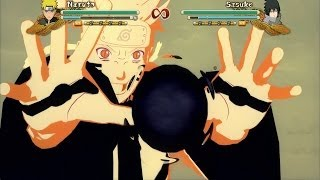 Naruto Shippuden: Ultimate Ninja Storm 3 Full Burst - Naruto Kyuubi Mode All Jutsu And Combos