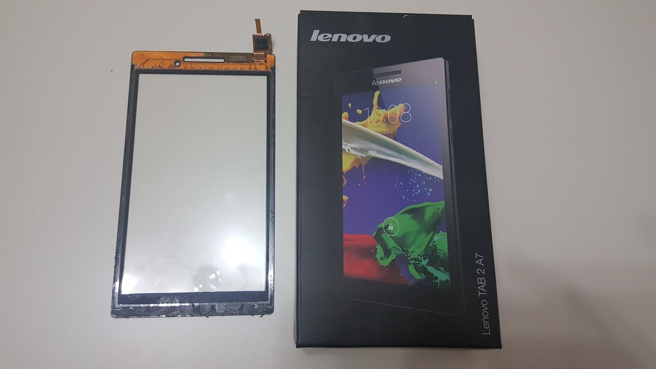 Lenovo TAB 2 A7-10F display and touch screen replacement