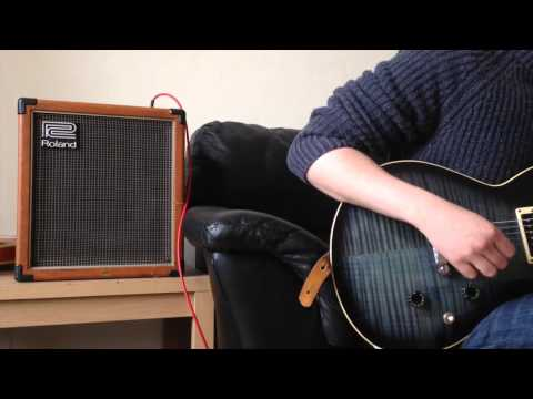 Vintage Orange Roland Cube 60