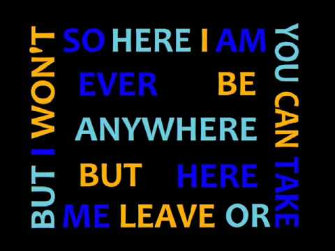 Stutter - Marianas Trench with Lyrics