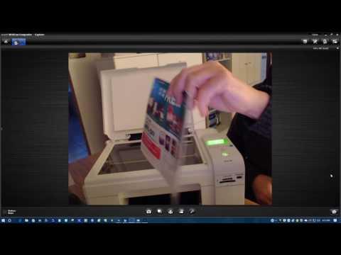 Dell Photo 926Printer Demo video