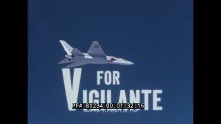 NORTH AMERICAN A3J VIGILANTE / A-5 AIRCRAFT   PROMOTIONAL FILM 81234