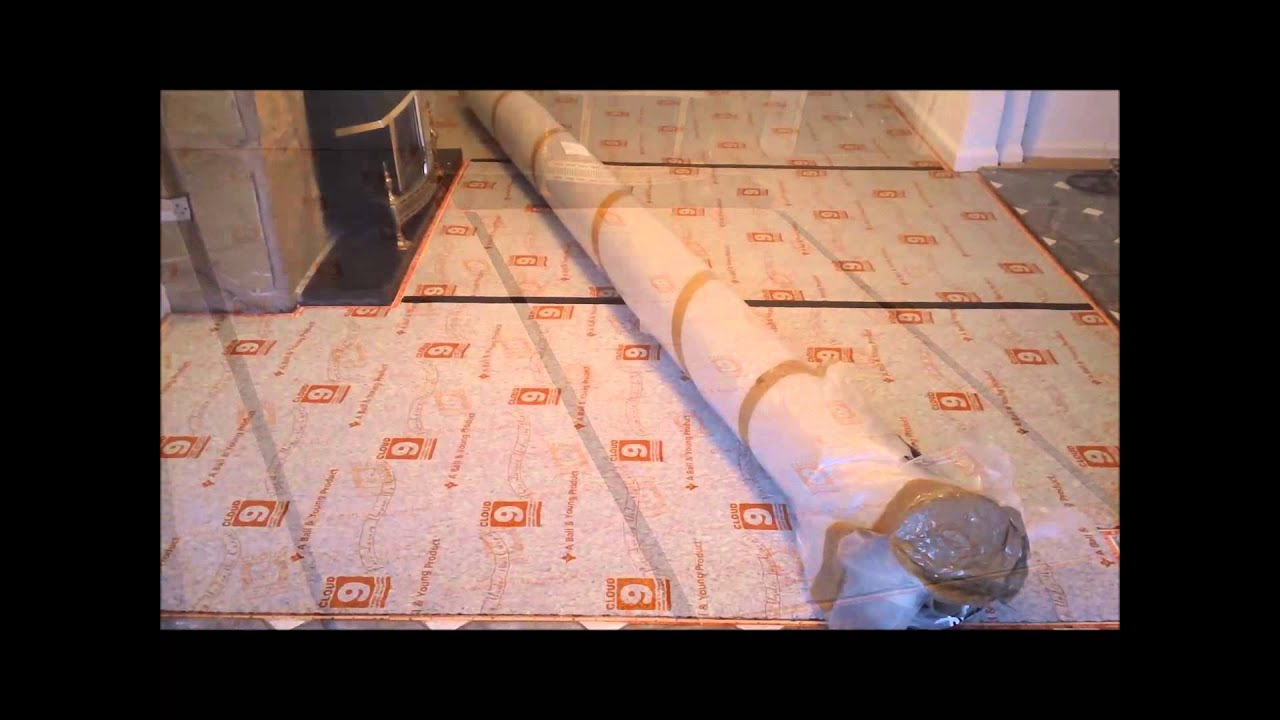 How To Lay Carpet Underlay Gripper Rods Complete Installation