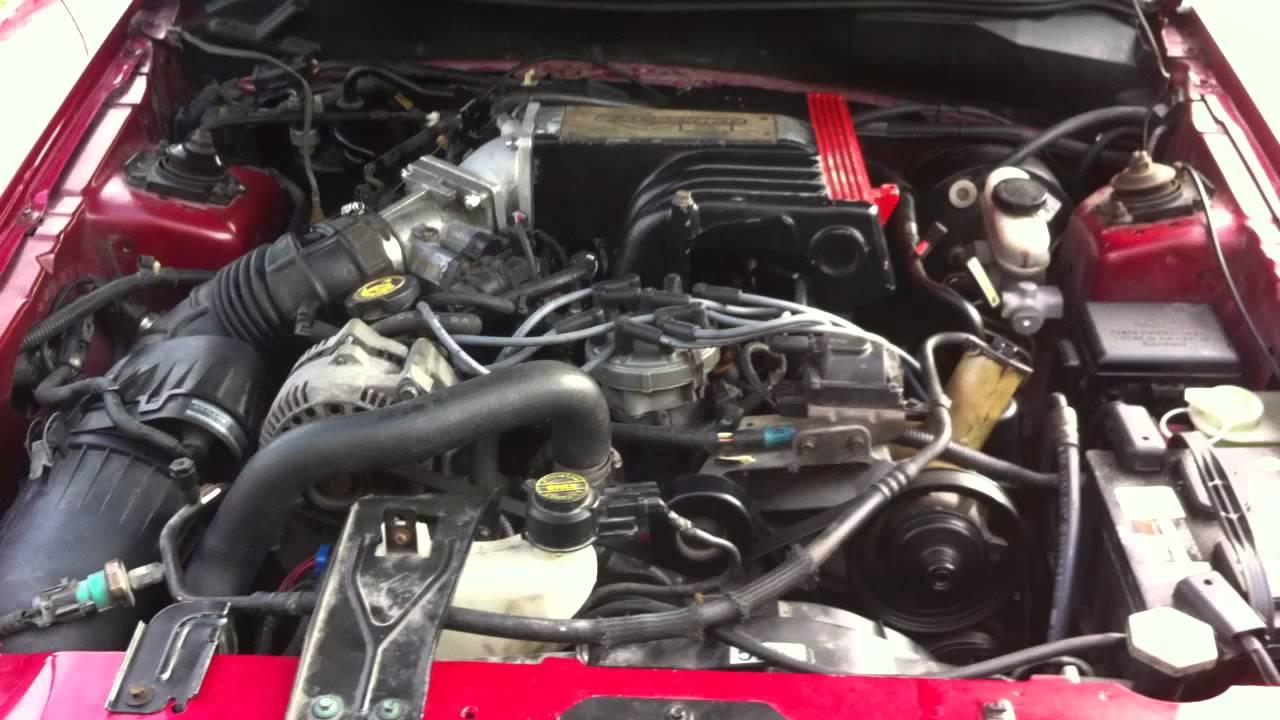 Mustang After Explorer Engine Swap Youtube