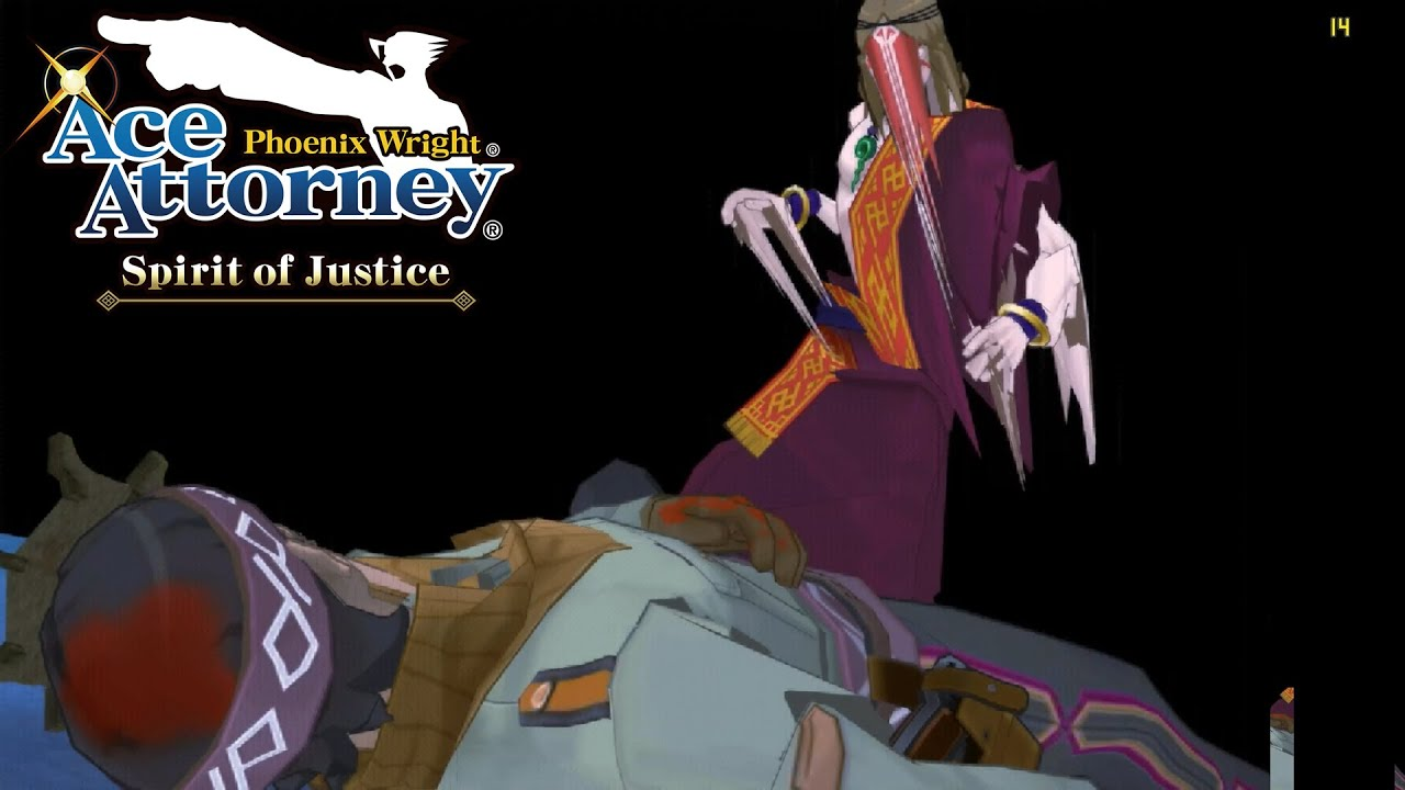 Phoenix Wright: Ace Attorney - Spirit of Justice   Citra Emulator (CPU JIT)  [1080p]   Nintendo 3DS