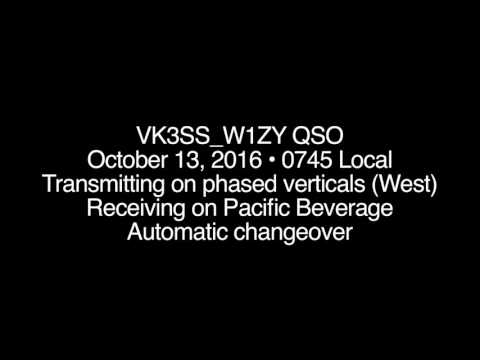 VK3SS & W1ZY Shortpath •  Beverage Antenna Experiments