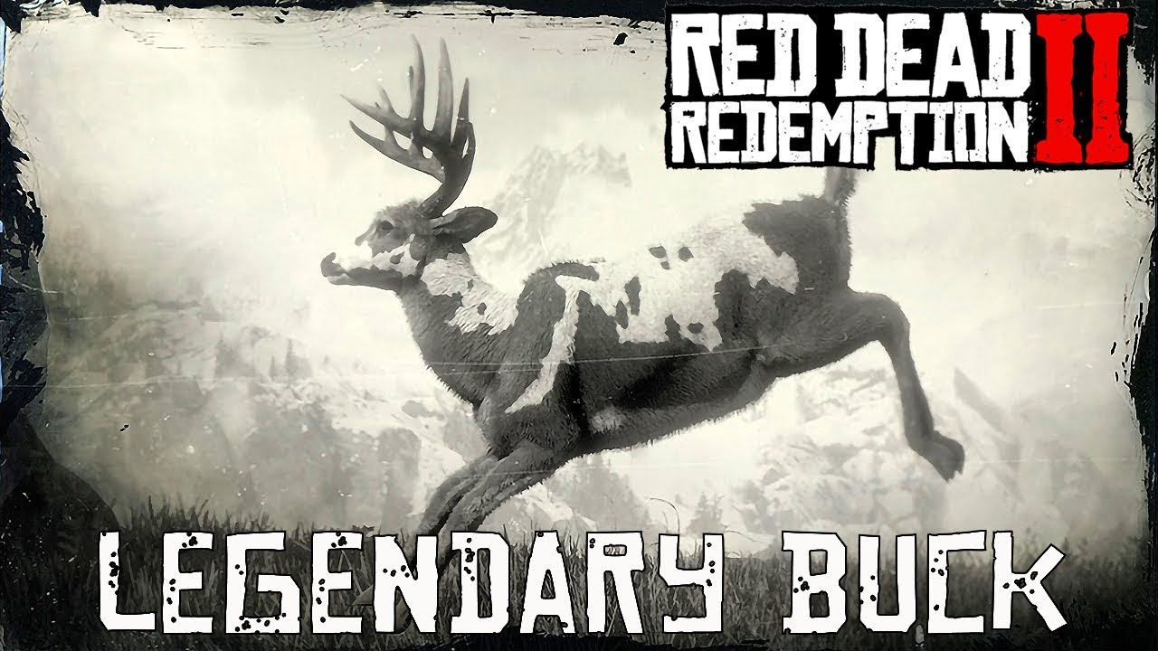 Red Dead Redemption 2 Legendary Animals buck