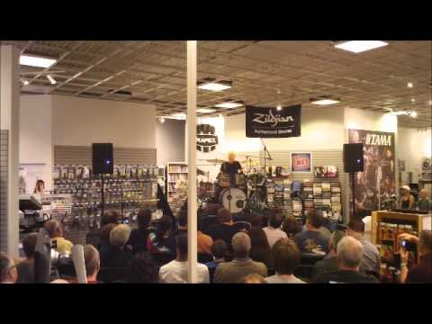 Gregg Bissonette Clinic at Ken Stanton Music in Alpharetta