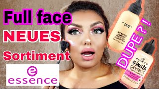 HEFTIG  essence 🔥 !! Sortiment 2018! Full face! MAC Foundation Dupe! - Review I Nadjma