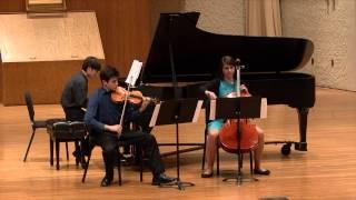 Claude Debussy - Piano Trio in G Major I. Andantino con moto allegro