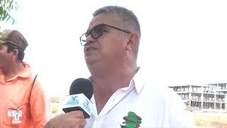 Chega ao terceiro dia a paralisação dos trabalhadores da construção do Hospital Regional Vale do Jaguaribe